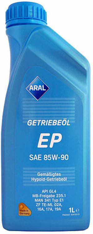 Aral Getriebeöl EP 85W-90  1 Litrovka