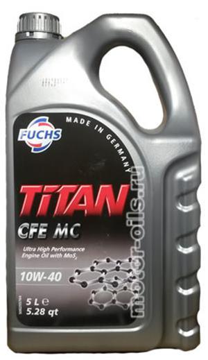 FUCHS Titan CFE 10W-40 MC  5 Litrovka