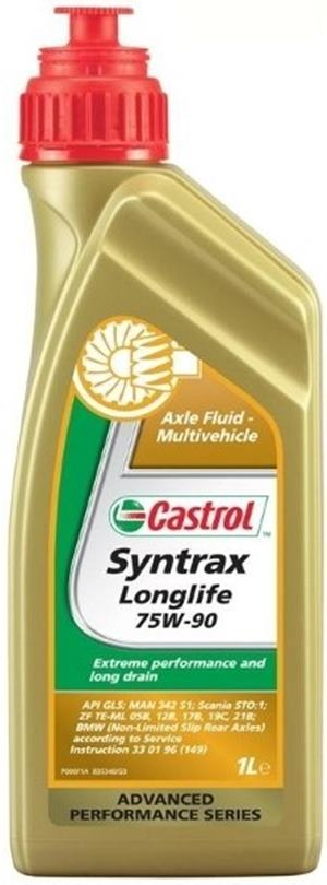 Castrol Syntrax Long Life 75W-90 1 Litrovka