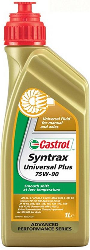 Castrol Syntrax Universal Plus 75W-90 12x1 L kartón