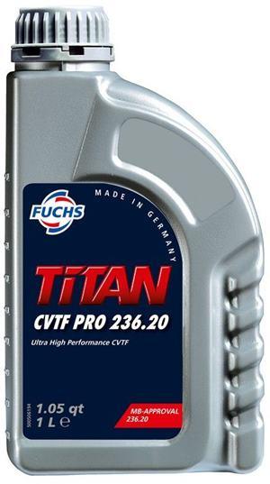 FUCHS Titan CVTF PRO 236.20 Litrovka