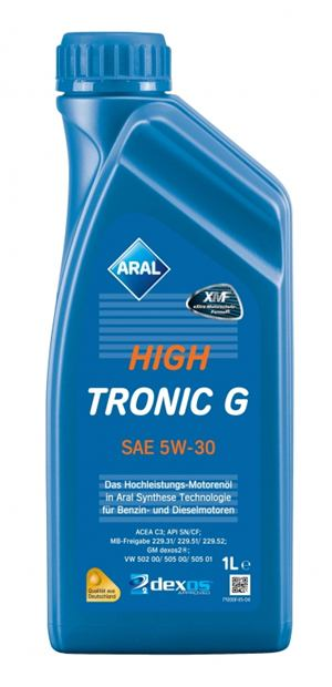 Aral HighTronic G 5W-30  12x1 L kartón