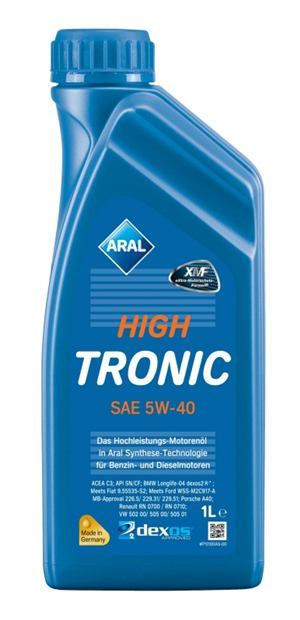 Aral HighTronic 5W-40 1 Litrovka
